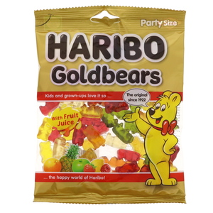 Haribo Goldbears Fruit Flavour Jelly Candy 160g