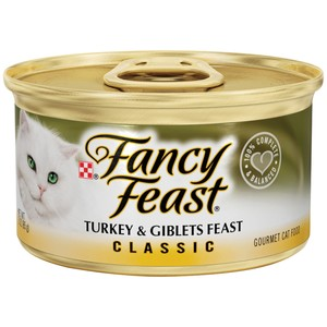 Purina Fancy Feast Classic Turkey & Giblets Wet Cat Food 85 Gm