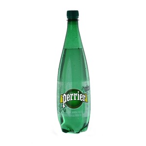 Perrier Natural Sparkling Mineral Water Regular 1Litre