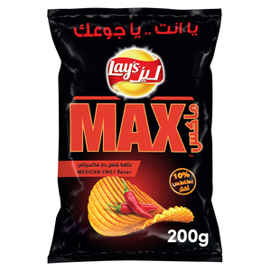 Lay's Potato Chips Max Mexican Chili 200g