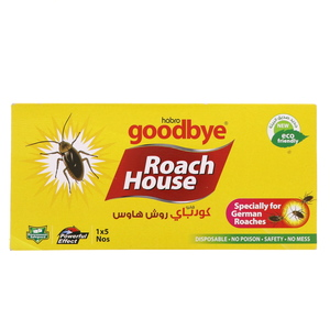 Goodbye Roach House Cockroach Trap 5's