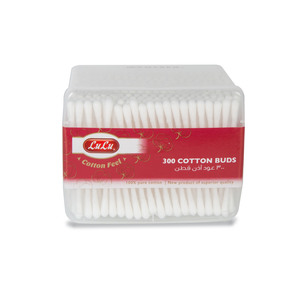 Lulu Cotton Buds Rectangle 300pcs