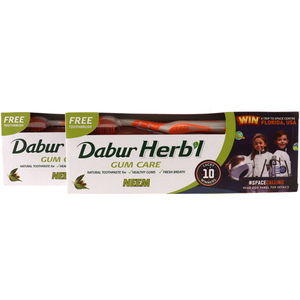Dabur Hebal Neem Toothpaste For Gum Care 2 x 150g