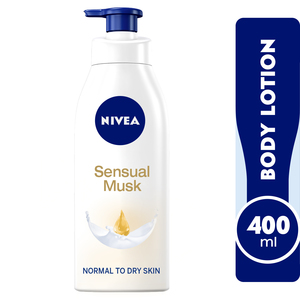 Nivea Body Care Body Lotion Sensual Musk Normal to Dry Skin 400ml