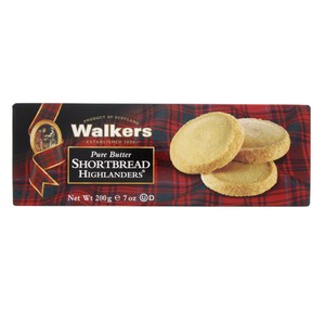 Walkers Pure Butter Shortbread Highlanders 200g