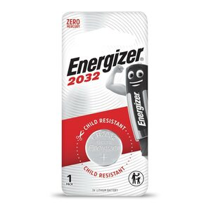 Energizer Lithium Battery CR2032 1pc