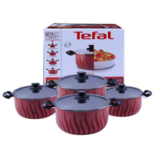 Tefal Tempo Flame Cookware Set  16-28cm