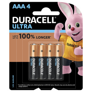 Duracell Ultra AAA Battery 4pcs