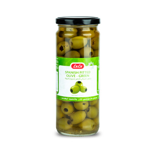 Lulu Spanish Pitted Green Olives 212g