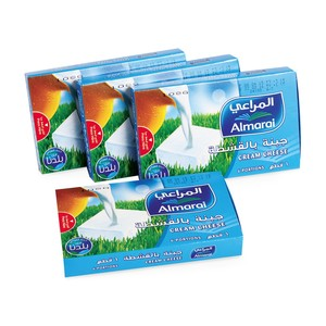 Almarai Portion Cream Cheese 108g x 3 + 1
