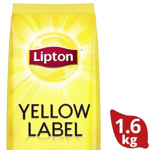 Lipton Yellow Label Black Loose Tea 1.6kg