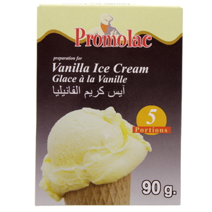 Promolac Vanilla Ice Cream Mix 90 Gm