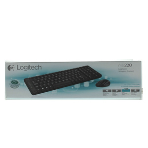 Logitech Wireless keyboard MK220 + Mouse