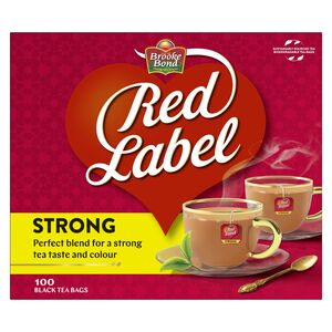 Brooke Bond Red Label Black Tea 100pcs