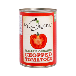 Mr. Organic Italian Organic Chopped Tomatoes 400g