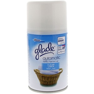 Glade Clean Linen Automatic Refill 175g
