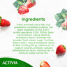 Activia Stirred Yoghurt Low Fat Strawberry 120g