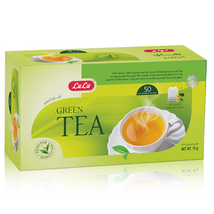 Lulu Green Tea Bags 50pcs