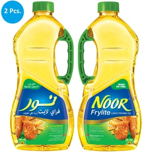 Noor Frylite Cooking And Frying Oil 1.8Litre x 2pcs