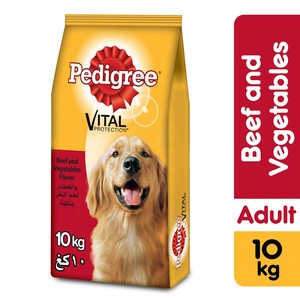 Pedigree Beef & Vegetables Dry Dog Food (Adult) 10kg
