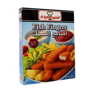 Al Kabeer Frozen Fish Fingers 300g