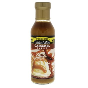 Walden Farms Caramel Syrup Sugar Free 355ml