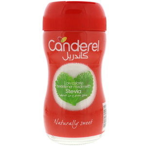 Canderel Low Calorie Sweetener Made With Stevia 40g
