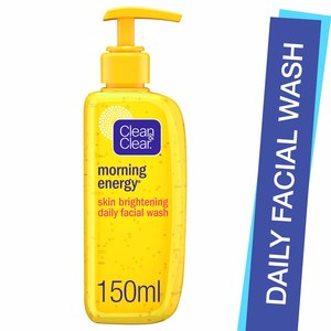 Clean & Clear Facial Wash Morning Energy Skin Brightening 150ml