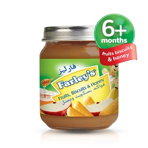 Farley's Fruits, Biscuit & Honey Baby Food  120g