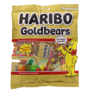 Haribo Goldbears Fruit Flavour Jelly Candy 200g