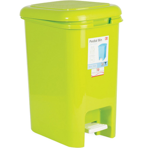 JCJ Dust Bin Assorted Colours 15Ltr