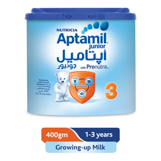 Aptamil Junior 3 Growing Up Milk 400g