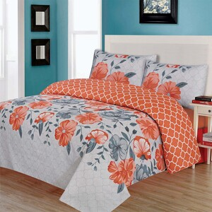 Canrry Comforter Set Double 10pcs Assorted Colors & Designs