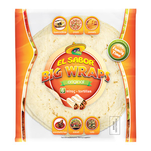 El Sabor Original Tortilla Wraps 6pcs