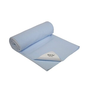 Quick Dry Water Proof Baby Sheet 100x70 Blue