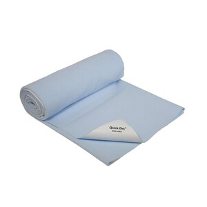Quick Dry Water Proof Baby Sheet 100x140 Blue