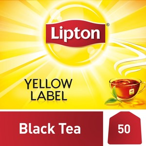 Lipton Yellow Label Black 50 Teabags
