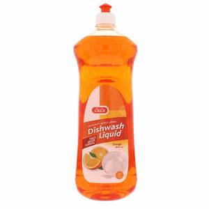 Lulu Dish Wash Liquid Orange 1Litre