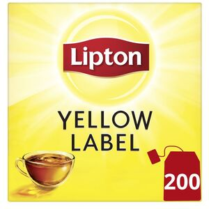 Lipton Yellow Label Black Tea 200 Teabags