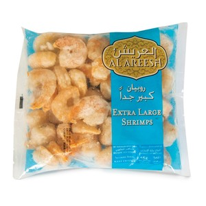 Al Areesh Shrimps Extra Large 1kg