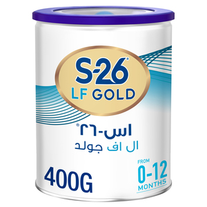 Wyeth S26 LF Gold Premium Starter Infant Formula From 0 to 12 Months 400g