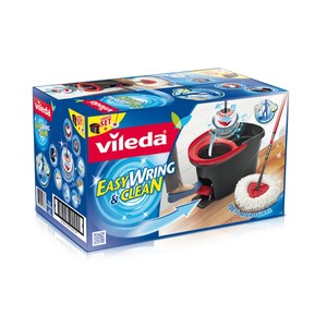 Vileda Easy Wring & Clean Spin Mop / Rotating Mop 1 Set