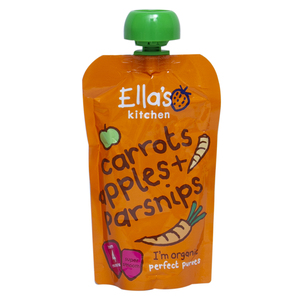 Ella's Kitchen 100% Organic Baby Food Carrot Apples Parsnips 120g