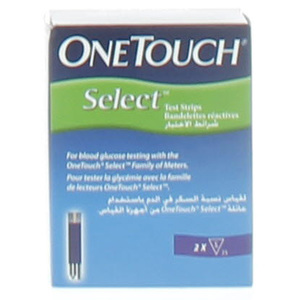 One Touch Select Glucose Test Strips