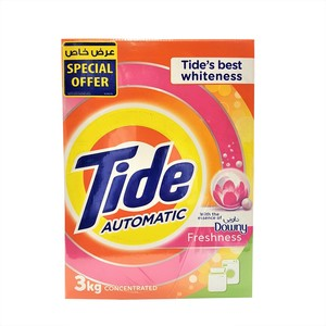 Tide Washing Powder Concentrated with Downy Freshness Front Load 2 x 3kg