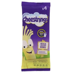 Kerry Dairy Cheese Strings 4pcs 80g