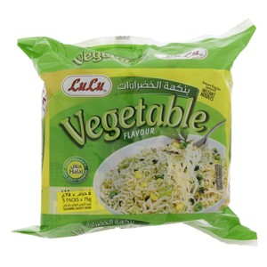 Lulu Vegetable Flavour Instant Noodles 75g