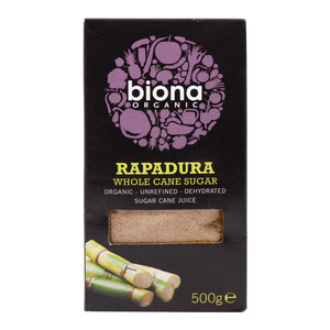 Biona Organic Rapadura Whole Cane Sugar 500g