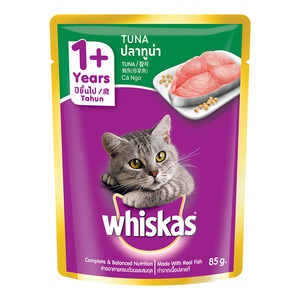 Whiskas Tuna in Jelly Pouch 85g