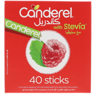 Canderel Sweetener With Stevia 40Sticks